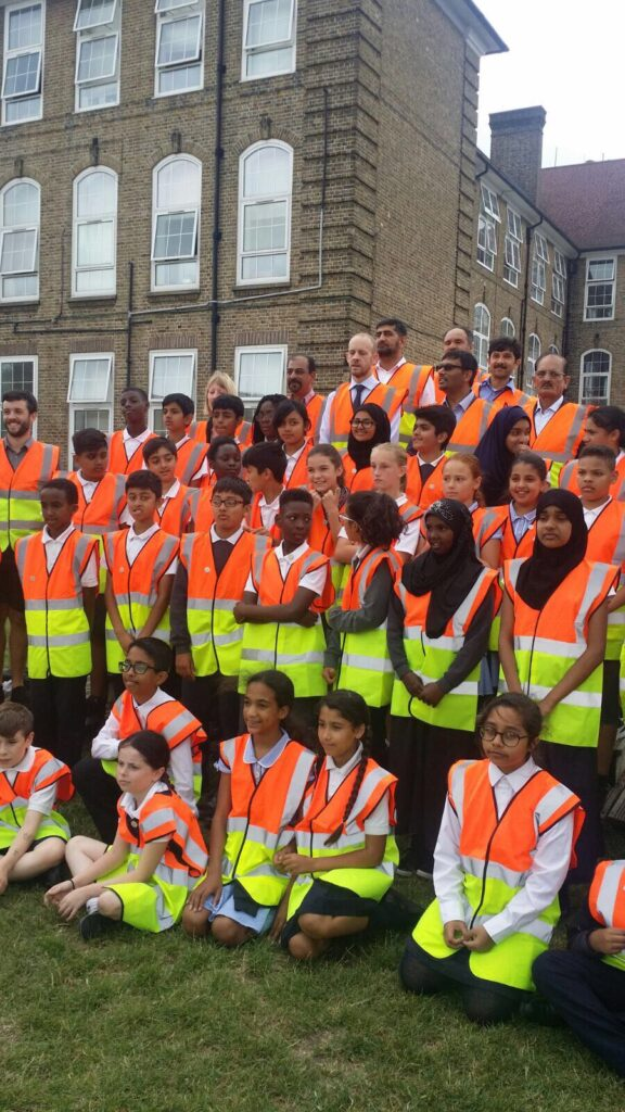 Charity Walk For Peace – Hillbrook Primary School Tooting