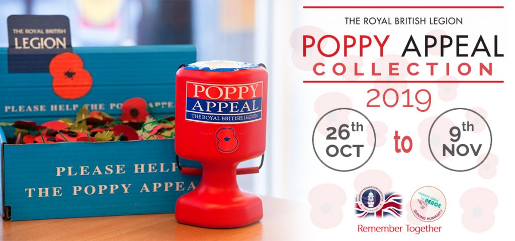 Poppy Appeal Collection 2019
