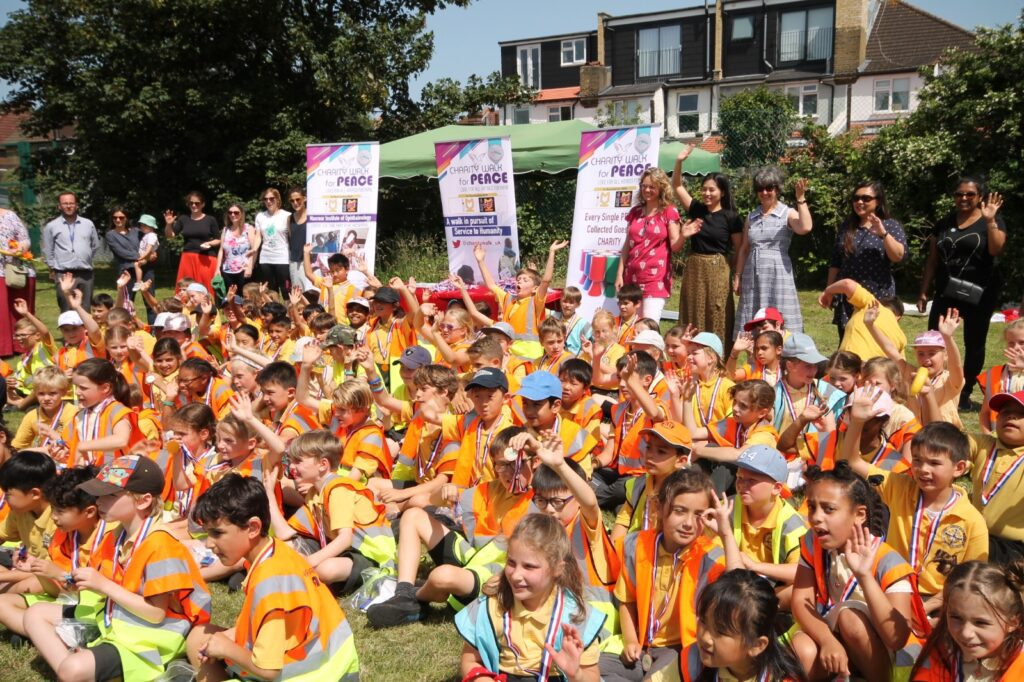 Charity Walk For Peace Christ Church School – New Malden