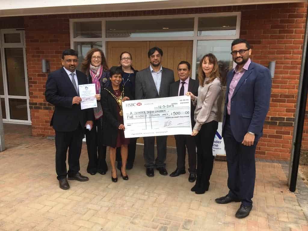 AMEA donate funds to Alexander Devine Children's Hospice