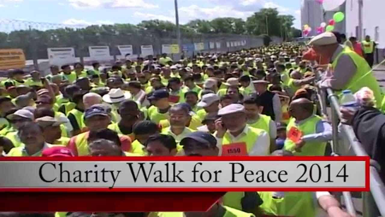 Charity Walk For Peace 2014
