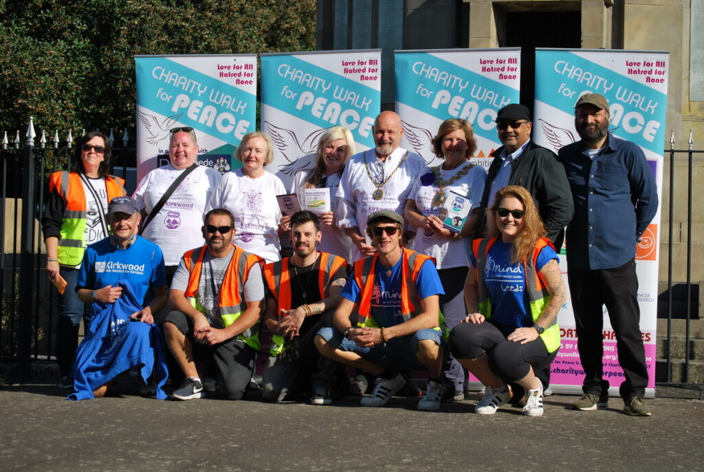 Charity Walk for Peace Dewsbury