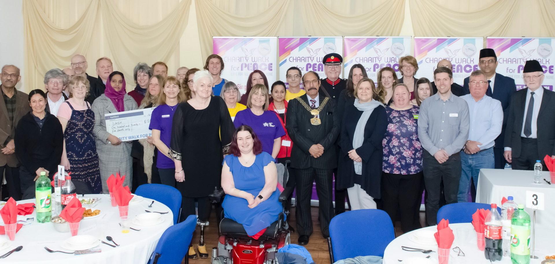 Pre Charity Walk For Peace 2019 Reception – Bradford