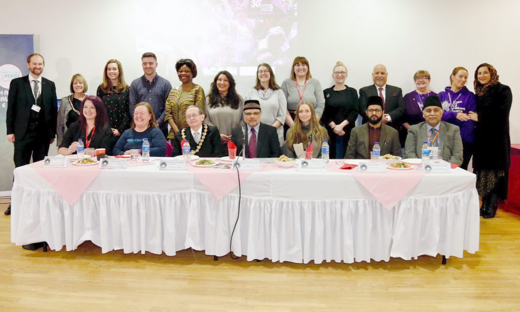Pre Charity Walk For Peace 2019 Reception – Manchester