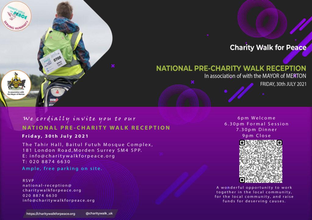 National Pre-Charity Walk Reception | 2020 – 2021