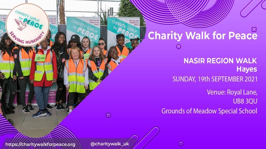 Nasir Region Walk – Hayes | 2020 – 2021