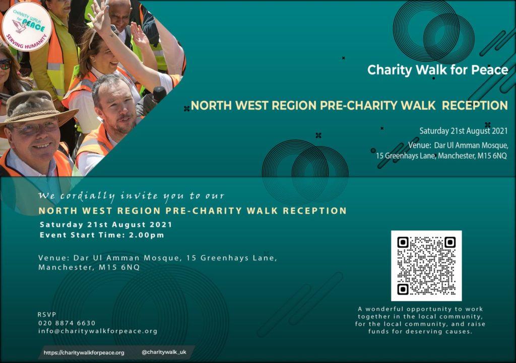 North West Region – Pre-Charity Walk Reception   2020 – 2021